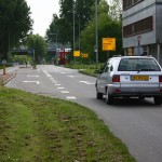 Turn left ...