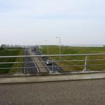 Looking westwards on Wieringen towards the Amsteldiepdijk
